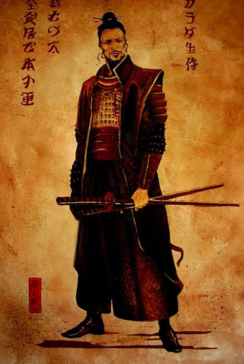 """The samurai must maintain his faith in his beliefs, even as the social or political climate shifts and alters. He must be patient, must act in a manner that may at times seem irrational or illogical, must resist the temptations of instant gratification, and must work towards fulfilling what may seem to be an impossible idea.  As a result, the samurai is often something of an outsider, a rebellious figure because he refuses to conform to the habits of the day."" ~ Takahiro Kitamura"