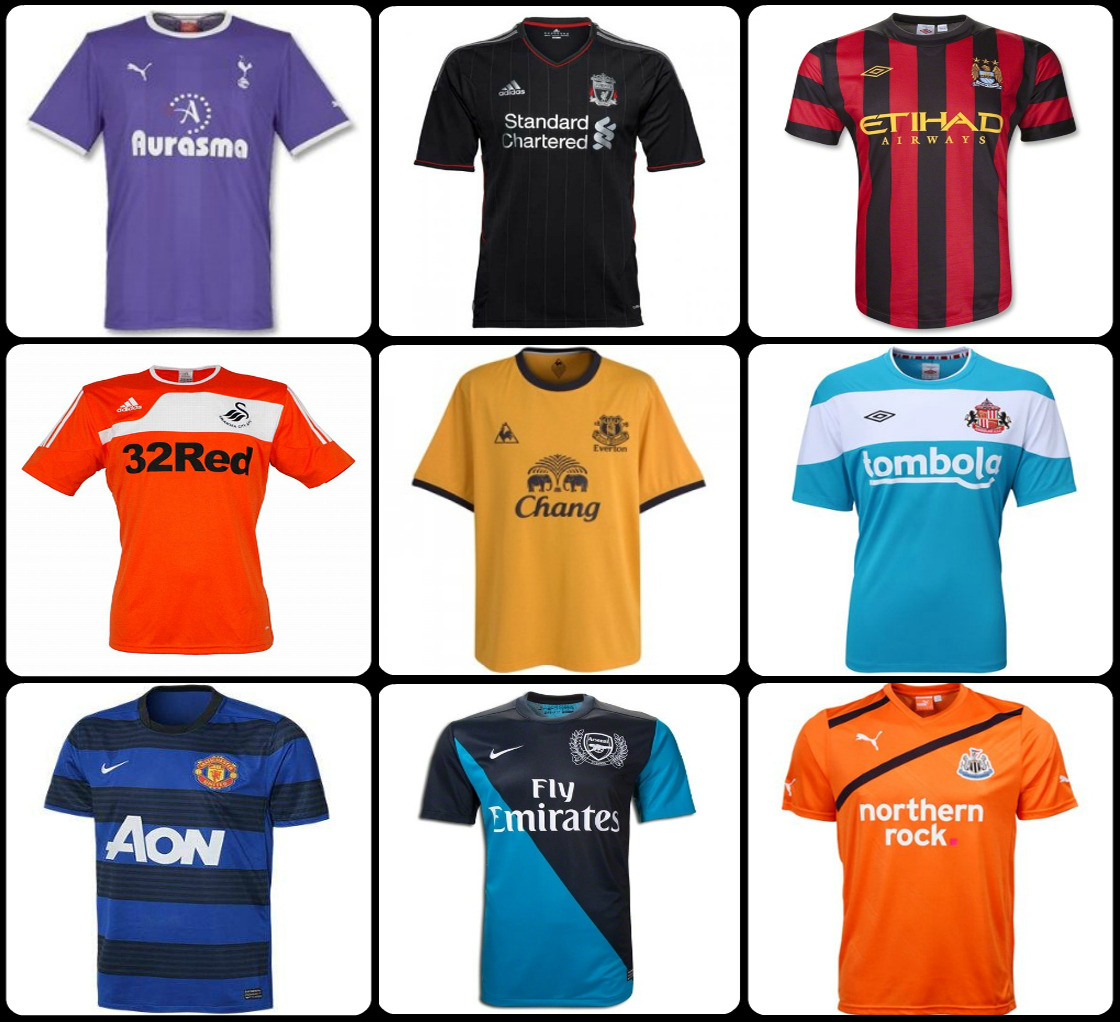 Shield your eyes! Nobody wins when Premier League teams fashion away kits. We discuss these unfortunate designs, the relegation debate, and why the English don't wear sunglasses in the latest pod. It will be up on Grantland tomorrow (damn you, Baseball!).