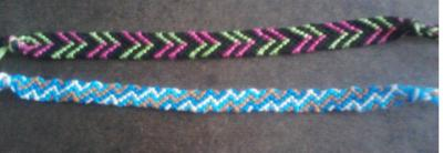 braceletsandmore:  lovelyydesigns:  Just finished the top one, finished the bottom one a few days ago.  These are really pretty!