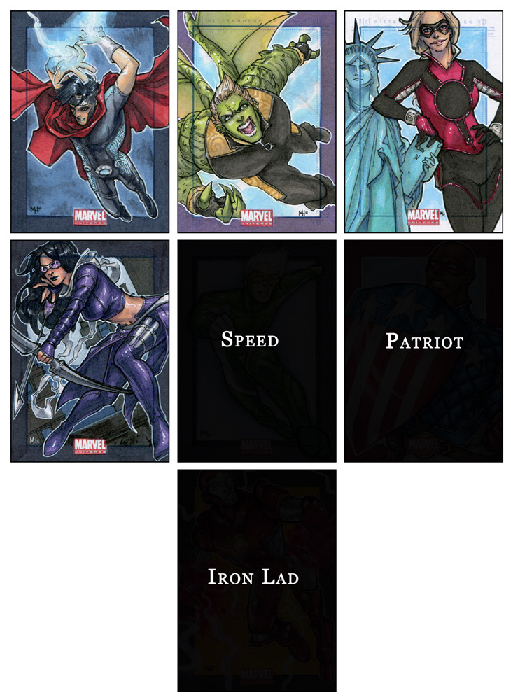 MU 2011 - Young Avengers by *MeghanHetrick