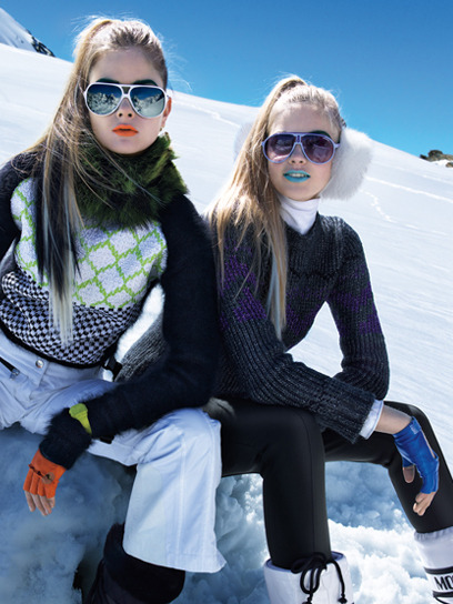teenvogue:  Winter trend alert: Sporty geometric knits! We show you how you can be ski-bunny-chic, too, here »    why do women wear thong panties