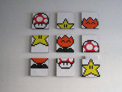 0xen:  Super Mario World: Bonus Game Screen Shot Paintings by anenemyairship on Flickr.