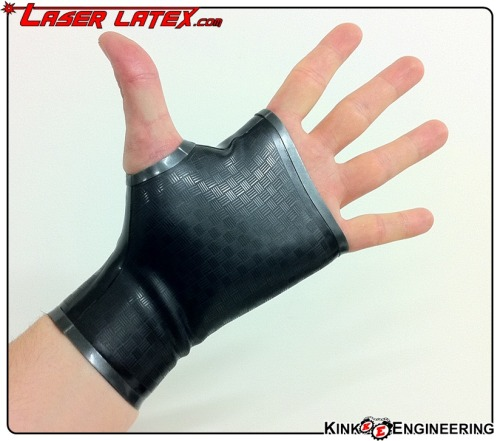 Part 2: NEW FAUX CARBON FIBRE LASER ETCHED GAUNTLETS AVAILABLE NOW. Carbon Weave Etched Gauntlets