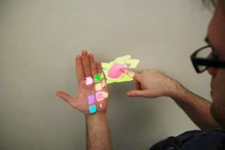 OmniTouch: Wearable Multitouch Interaction Everywhere