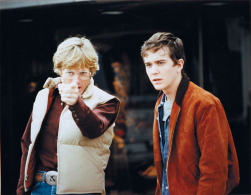 filmcrack:  Robert Redford directing Timothy Hutton in Ordinary People