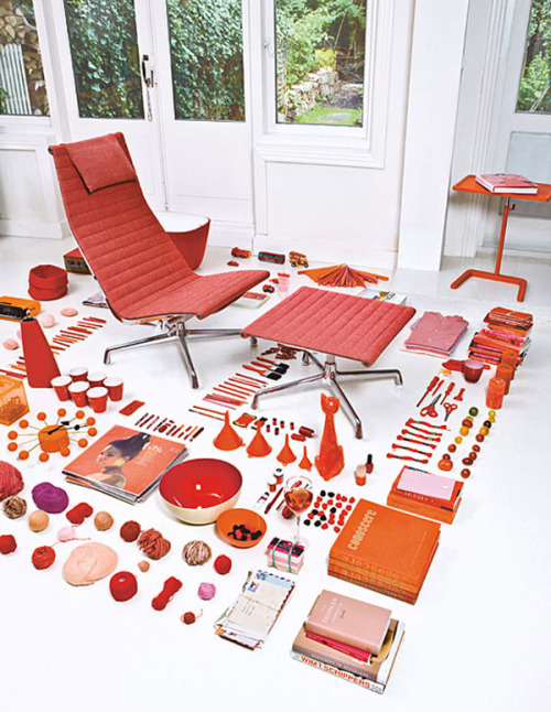 thingsorganizedneatly:  from an Eames Aluminum Chair brochure
