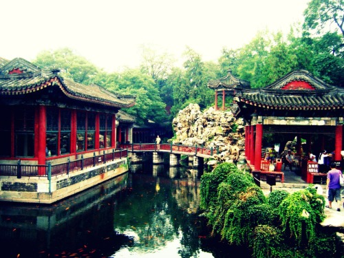 Take me here now, please.   [Behai Park, Beijing]