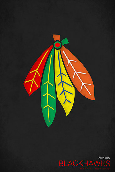 Really diggin' the tight designs behind these NHL minimalist posters. Well done, S. Preston.