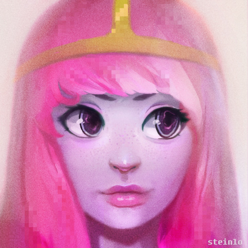 steinlo:  It's Princess Bubblegum!