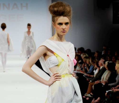 namal: Hannah McGee, University Central Lancashire at Graduate fashion week 2011. For more see Rebel Magazine's Graduate Collections issue.