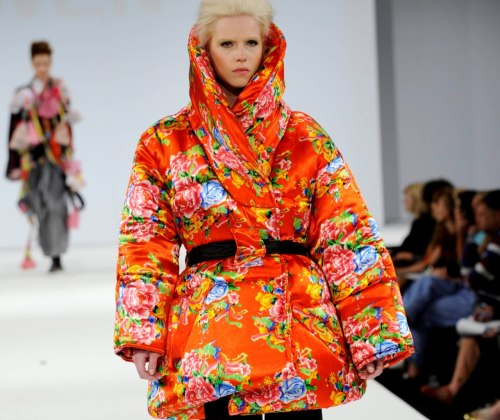 namal: Marrisa Owen, University Central Lancashire at Graduate fashion week 2011. For more see Rebel Magazine's Graduate Collections issue.