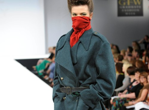 namal: Anne Davey, University Central Lancashire at Graduate fashion week 2011. For more see Rebel Magazine's Graduate Collections issue.