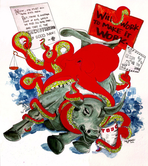 #octopiwallstreet.  by inkjacket.OCT2011.