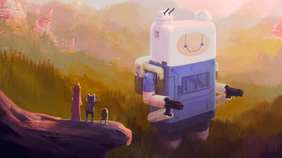 adventuretimefan:  Mega-Finn!! (see high-res) submitted by tiongblr