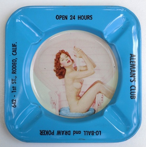 Go ahead, GRIND IT OUT Misogynistic Ashtray collection HERE on Vintage Sleaze the Blog