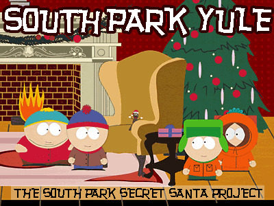 404-thisblognotfound:  Hey writers and artists, join the South Park Secret Santa Exchange! http://southpark-yule.tumblr.com/