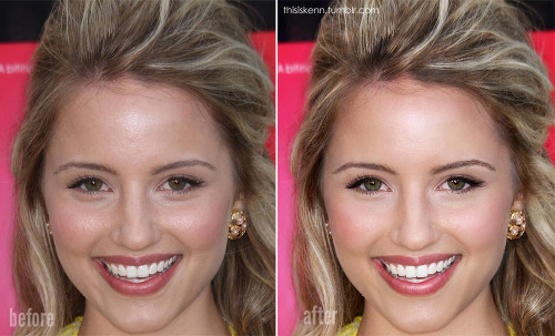 "Decided to return to some photo editing today. I choose the lovely Dianna Agron cause I wanted to do something light and ""natural."" Click to see the larger image."