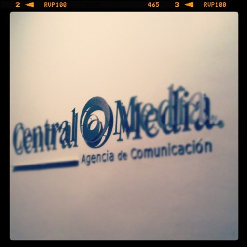 Logo (Taken with Instagram at Central Media)