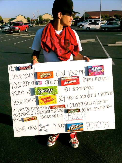 youngandprettylifestylee:  HOLY FUCK, if someone asked me out like this we'd be getting married.