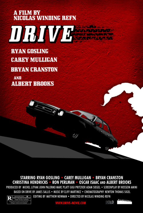 goldenmovieman:  Drive poster by HopkoDesigns