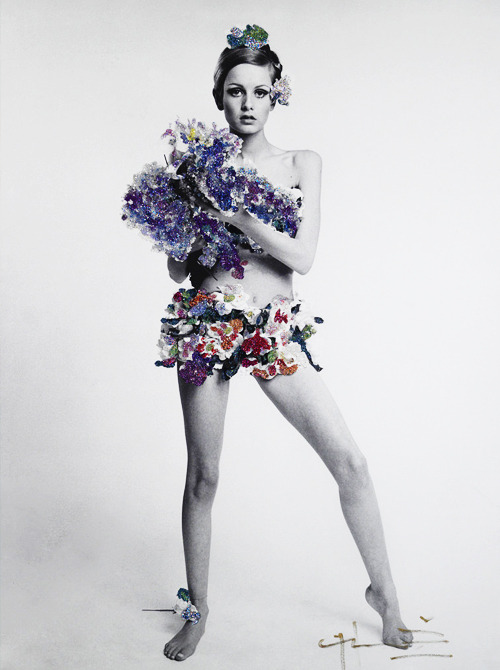 Twiggy: Vogue Magazine 1967, photographed by Bert Stern