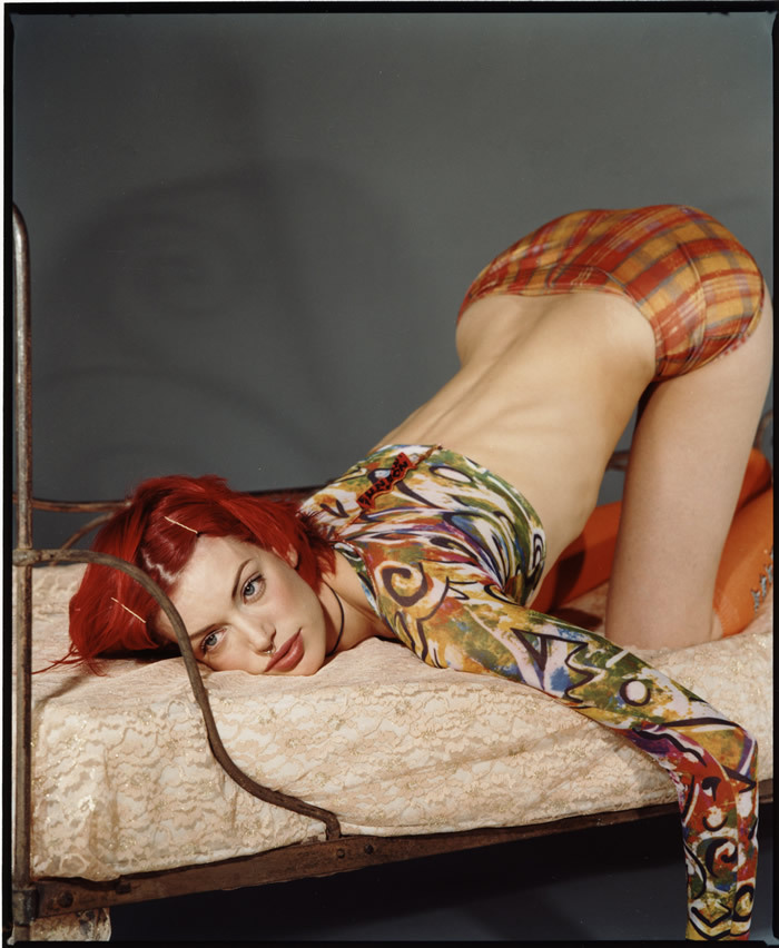pussylequeer:  Sibyl Buck photographed by Bettina Rheims
