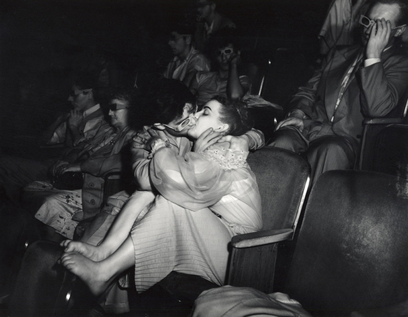 suicideblonde:  Lovers by Weegee