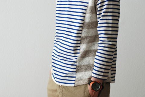 "thebowtielife:ALEXANDER LEE CHANG ""KNIT COMBI BORDER"" so sick"