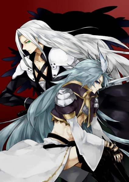 Kuja (FFIX) and Sephiroth (FFVII)