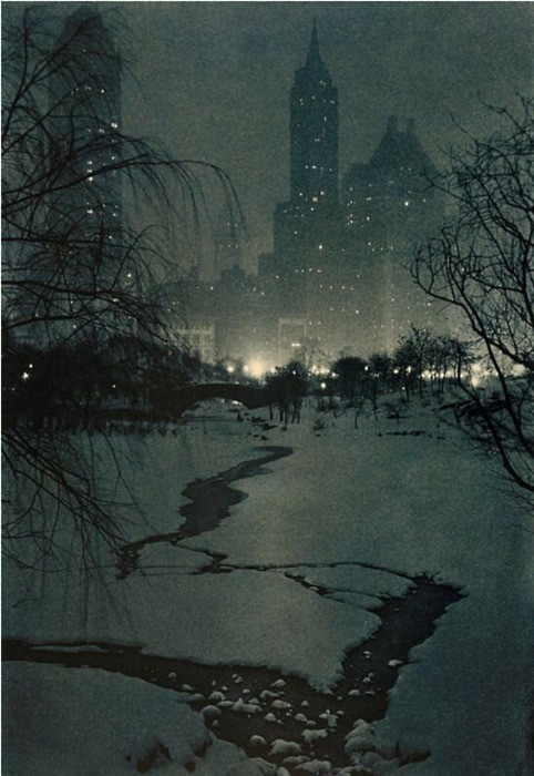 Adolf Fassbenderthe- Winter Night (1932)