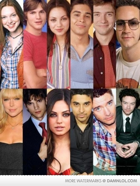 they should make a that 70's show reunion… that 80's show. hahah