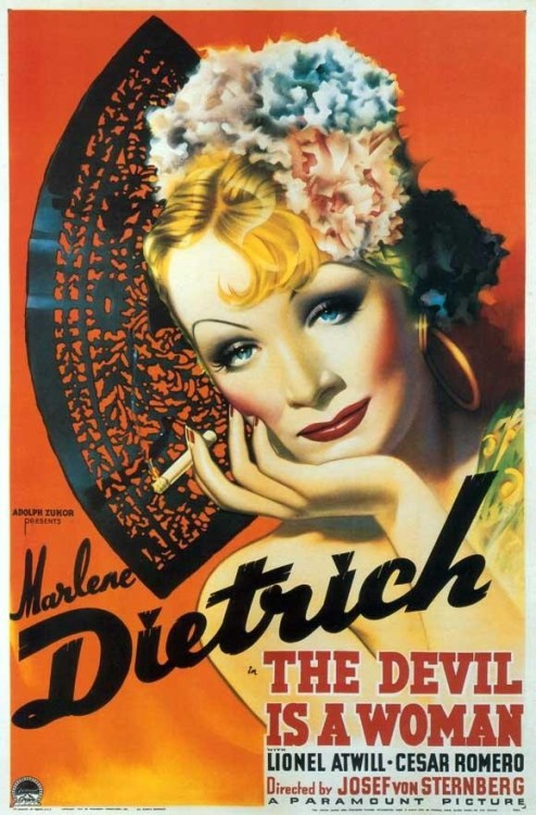 femdomposters:  The Devil Is a Woman (1935)