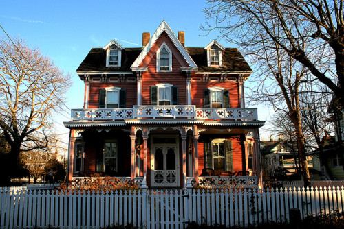 Victorian in Cape May, NJ By M. Longfellow Click here for everything Jersey…