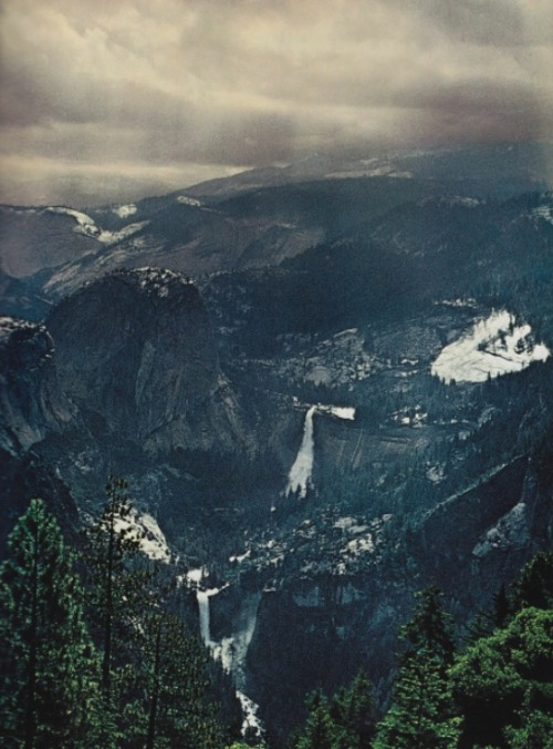 nationalgeographicscans:  Yosemite Valley, April 1973