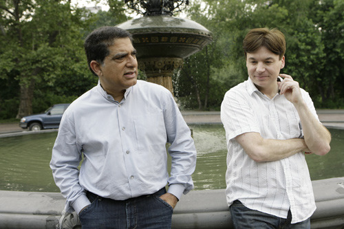 Deepak Chopra and Mike Myers