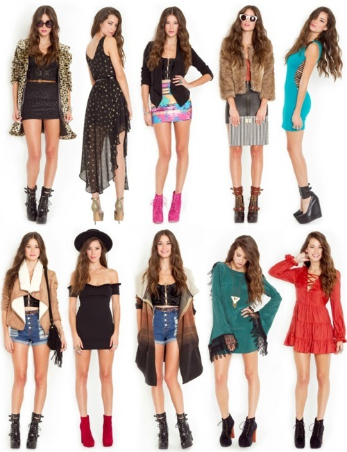 I adore every one of these outfits!
