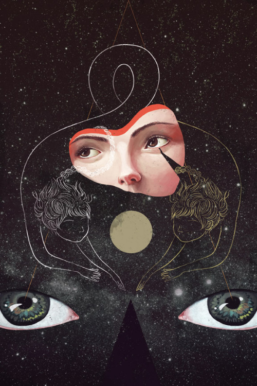 sonmi:  available as a print on society6 http://society6.com/sonmi/Sister-cqj_Print