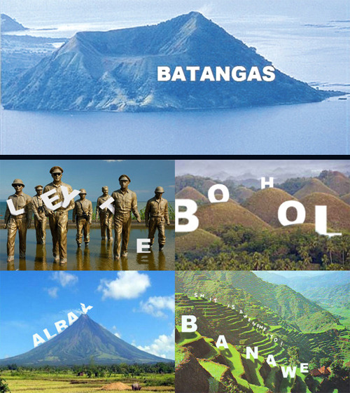 "stupid idea of the day  pinoytumblr:  'Hooray for Hollywood' on Taal Volcano Islandby Jerome Balinton, Inquirer Southern Luzon It was something only a movie star could have conceived. Why not put up a towering ""Batangas"" sign on Taal Volcano island similar to the ""Hollywood"" sign in Los Angeles, California? The provincial council approved on October 5 a resolution supporting the idea of Governor Vilma Santos-Recto, the award-winning actress, to erect a hard-to-miss landmark and potential tourism draw, according to Vice Governor Mark Leviste II. Tagaytay City Mayor Abraham Tolentino, however, questioned the Hollywood-inspired design for the island, flatly saying: ""Why put up a Batangas sign? It won't help."" ""People, while sipping a cup of coffee, will just say that the view is more beautiful from Tagaytay without that sign,"" Tolentino said with a hint of a warning. Read more here *Taal image from the Office of the Vice Governor of Batangas *Spoof concepts by Macky Pamintuan (via helgaholic)"