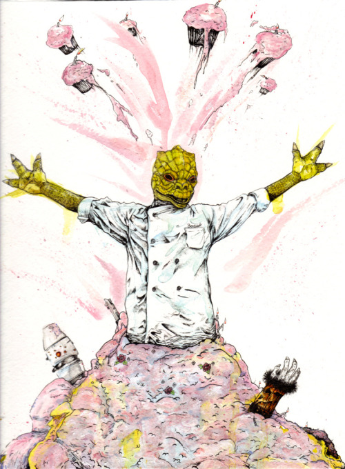 Cake Bossk by Alex Torrez.