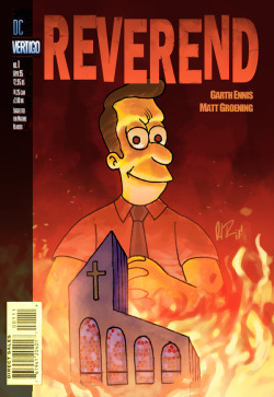 ATTN: Davo GashDaniel Irizarri's mash-up of Preacher and The Simpsons.
