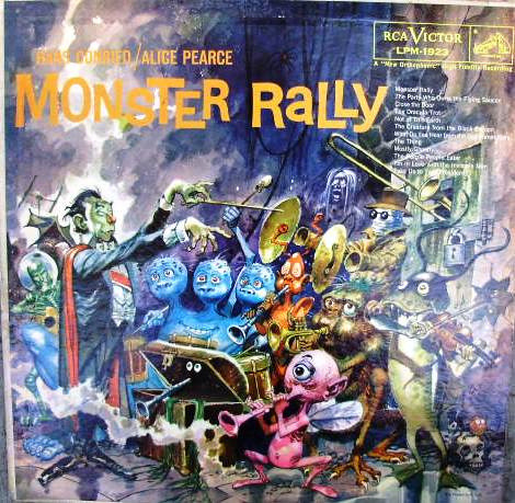 Monster Rally  - Jack Davis cover art