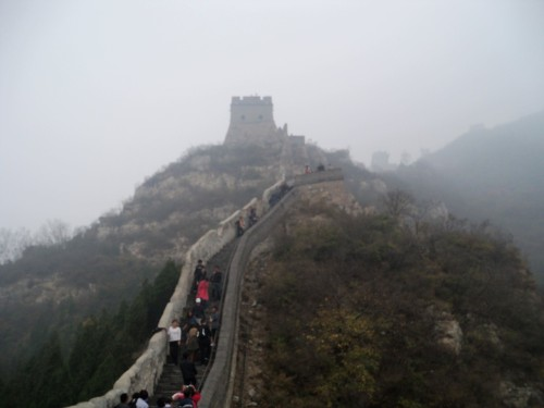 Got to tour the Great Wall of China today! One of the 2 highlights of the day, but the tour company was a complete tourist trap. More info coming soon :)