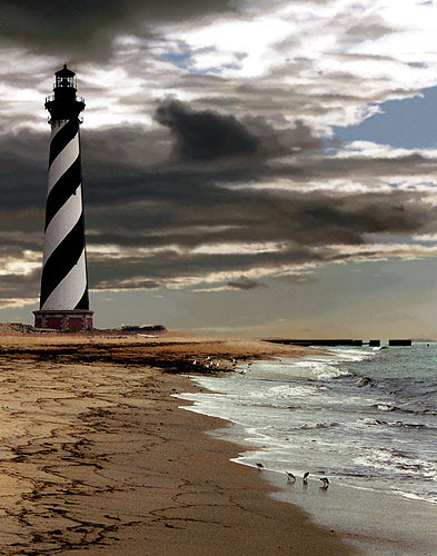 Cape Hatteras lighthouse, North Carolina by Rod Watson (via Photo Contest Winners)