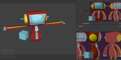 day 293: learning Blender 'cos hey why not? It's free. This is Spaceman if any of the long-time followers of this blog would remember from earlier this year.