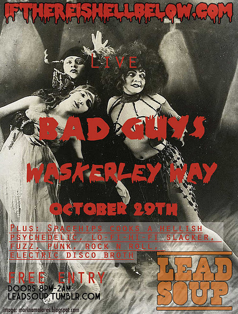 "waskerley way is returning to london next weekend; pre-heat your ovens to ""death"""