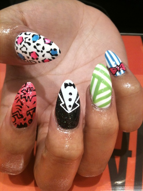 wahnails:  Mix it up!