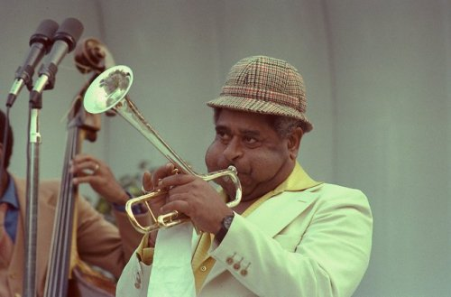 "ourpresidents:  John Birks ""Dizzy"" Gillespie October 21, 1917 - January 6, 1993 It's the birthday of jazz giant Dizzy Gillespie.  What better occasion to put on some bebop and look at a very cool picture of Dizzy blowing his horn at the White House.  June 8, 1979, Jazz Concert on the South Lawn with President Jimmy Carter.     why do women wear thong panties"