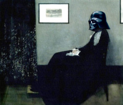 Darth Whistler's Mother Artist: James McNeil WhistlerVillain: Darth Vader (Star Wars)