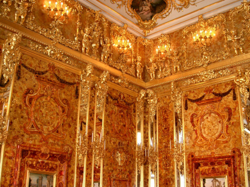 The amber room, St Catherines palace