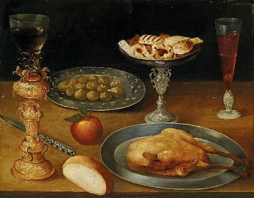 Gottfried von Wedig Still Life 17th century